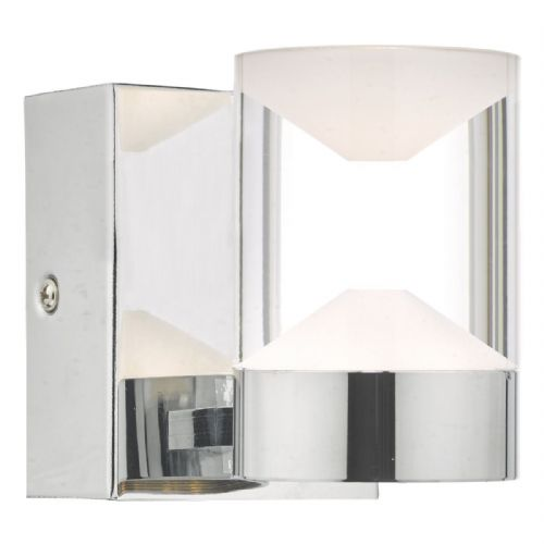 Susa W/Lt Polished Chrome & Acrylic LED Bathroom IP44 (double insulated) BXSUS0750-17